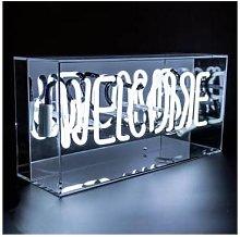 Locomocean - 'Welcome' Acrylic Box Neon