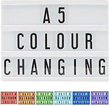Locomocean A5 Colour Changing Cinema Light Box USB