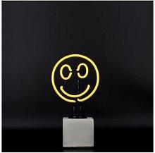 Locomocean - Mini Neon Smiley Sign