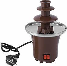 Lodenlli Household Mini Chocolate Fountain Fondue