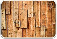 Lodge Style Hardwood Planks Image Print Farmhouse