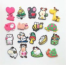 LOEMWJ Fridge magnets 2PCS Cute Cartoon Animal