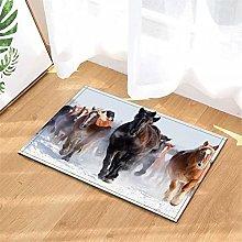 LoExTdAF Snowfield. Horse Herd. Bathroom Floor