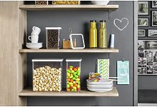 Loft 1L Food Storage Container (Set of 4) Rotho