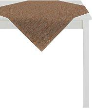Loft Style Tablecloth Apelt Colour: Brown