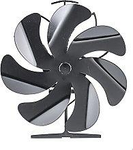 Log Burner 7 Blades High Quality Heat Powered Fan