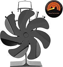 Log Burner Fireplace Fan,Environmentally Friendly
