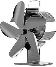 Log Burner Fireplace Stove Fan 5 Blades -