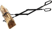 Log Grabber Fireplace Tongs Wood Fired Oven Tool