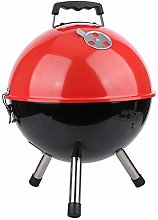 logozoee Grill, Round Barbecue Grill, for Camping