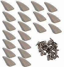 logyues 20pcs Silver Furniture Nails 9x23MM Dragon