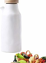 LOKKRG Olive Oil Bottle Drizzler, Porcelain Olive
