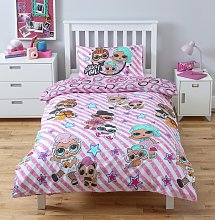 LOL Surprise Kids Pink Character Cotton Bedding