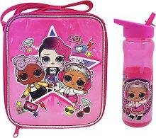 LOL Surprise Pink Rock Lunch Bag & Bottle - 600ml