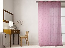 Lola Soleil d 'Ocre Curtain with Eyelets