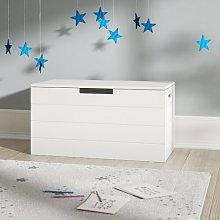 Lola Toy box Beachcrest Home Colour: White