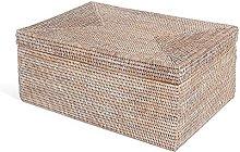 LOMBOK Under Bed Basket, Rattan, Brown, 60 x 20 x 45 cm