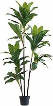 LOMJK Modern Simple Artificial Plants Tree Potted