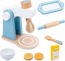 LON Wooden Pretend Play Sets Simulation Toasters