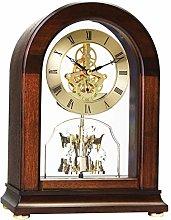 London Clock Arch top Skeleton Mantel Clock,