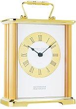 London Clock Chiming Brass Carriage Clock Black