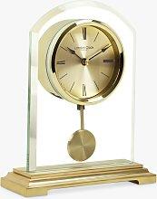 London Clock Company Glass Dome Pendulum Mantel
