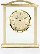 London Clock Company Roman Numeral Analogue Mantel