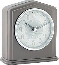 London Clock - Grey Piano Finish Mantel Clock