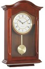 London Clock Traditional Pendulum Wall Clock,