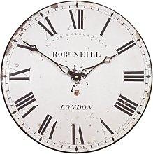 London Clockmaker's Wall Clock- 36cm
