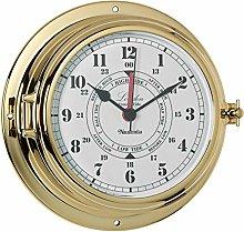London Tide Clock, Brass
