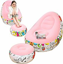 LONEEDY Inflatable Lazy Sofa, Family Lounge Chair