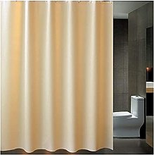 Long Bath Curtain with Shower Curtain Mould Proof