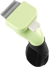 Long-haired dog hair removal tool, green-XS