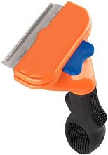 Long-haired dog hair removal tool, Orange-m