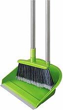Long Handle dust Floor Broom - dust and Brush