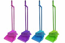 Long Handle Dustpan and Brush 2 Piece Set for