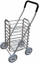 LONGJUAN-C Food Lightweight Shopping Trolley
