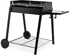 Longley Black Charcoal Barbecue Cooks for up to 6