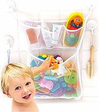 Longsing Bath Toy Bag Baby Bath Toy Organiser Mesh