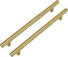 LONTAN Brass Cabinet Pulls Gold 160mm Drawer Pulls