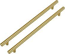 LONTAN Brass Cabinet Pulls Gold 192mm Drawer Pulls
