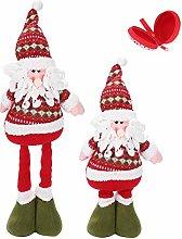 LONTG Christmas Figure Toy Standing Santa Claus