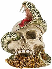 LONTG Halloween Skull Head Ornament Gothic Skull