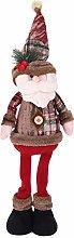 LONTG Standing Santa Claus Father Christmas Figure
