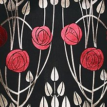 Loome Charles Rennie Mackintosh Style Fabric -