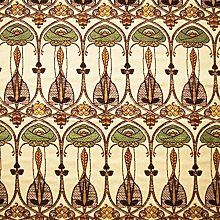 Loome Charles Rennie Mackintosh Style Woven Fabric