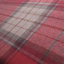 Loome Iona 'Berry Plaid' : Red Wool