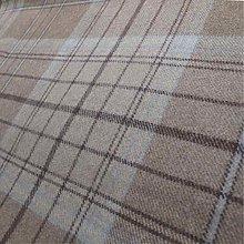 Loome Iona 'Burns Plaid' : Brown Wool