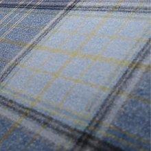 Loome Iona 'Ocean Plaid' : Blue Wool